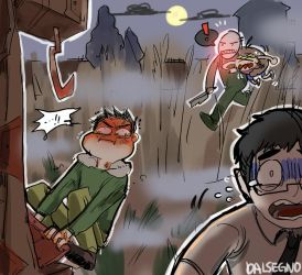 [Dead By Daylight] He is Coming..! by dalsegno2525