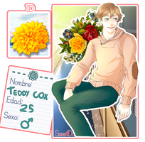 [SD] Theodore ' Teddy' Cox by Someone-in-the-blue