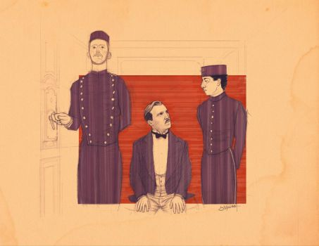 The Grand Budapest Hotel by bs-stefano