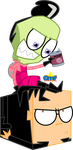Cubed Dib by Tiny-Toons-Fan