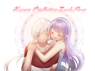 Happy Birthday to my Dearest by CattyNing
