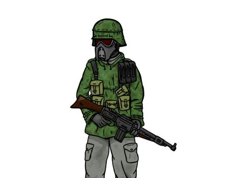 Imperium Soldier- Early Concept by The-General-Moe
