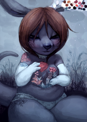 Sylvia WIP by cassetterecorder
