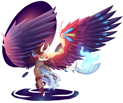 Magnus the red by Luluzii