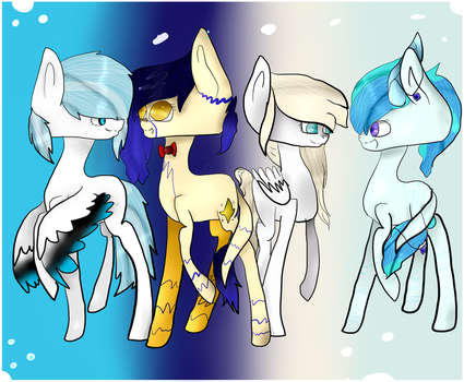 my Google Plus Friends by kawaiighostart