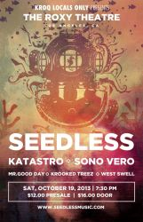 Seedless - Roxy Poster by Cameron-Schuyler