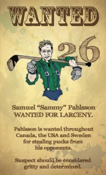 WANTED - CANUCKS SAMMY PAHLSSON by Bleezer