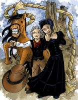 #126 Wild West GISHWHES by DragonPress