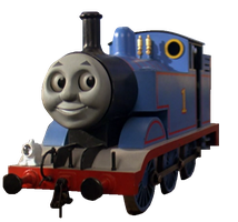 Thomas Transparent (Magic Railroad Version) by EngineNumber14
