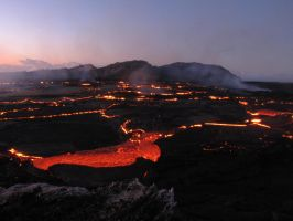 Hawaii Lava Lake by gravitydude