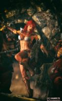 Red Sonja - DoubleAction by Hubby72