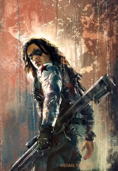 Winter soldier cropped by WisesnailArt