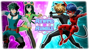 RR|Deku and Froppy vs. Ladybug and Cat Noir by Vex2001