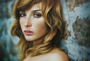oil painting on canvas  by fabiano millani by fabianoMillani