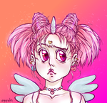 Extra AF Festival Chibiusa by angegrautes