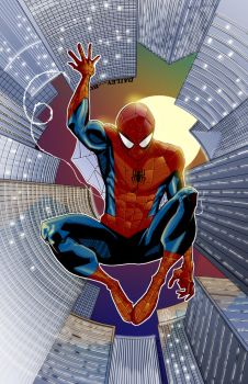 Spiderman by TheAdrianNelson
