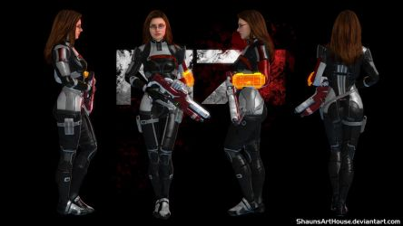 Mass Effect Occitania 2: Morgan Field Outfit by ShaunsArtHouse