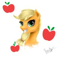 Applejack by Queen-Snowflake