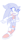 Volocity The Sonic Au by CassidyJCrim