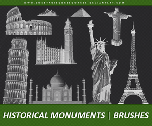 Historical Monuments | Brushes by sweetpoisonresources