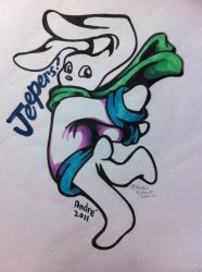 Jeepers marker doodle by AndrePaploo