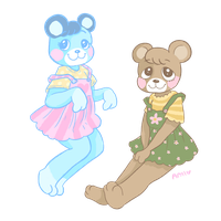 Bear Cubs by AndriaMiles