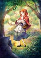 Little Red Riding Hood by jurithedreamer