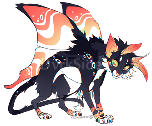 Catmoth Adopt #9 | RAFFLE CLOSED by DvrkSide