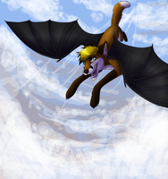FP - Flying in the sky by ReneahArt