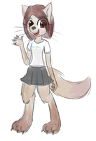 Millie Wolf by Nephrited