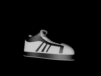 Adidas shoe by SkyDreamer112