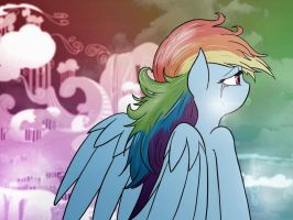 Rainbow Dash - Colors (not colored by me) by DKoshino