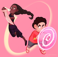 Steven Universe- Connie and Steven- Got Your Back by Otakuofeverything