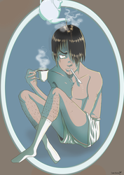 Black Tea by khghibli