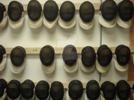 Fencing Masks by alittletree