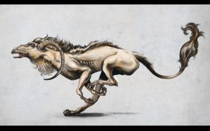 Concept creature by MeWannaLearn