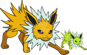 135 - Jolteon - Art v.2 by Tails19950