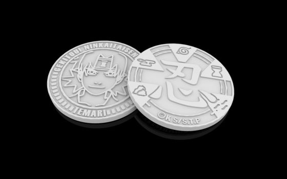 Temari coin STL by XylitolRED