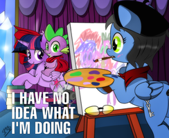 The Royal Portraitist - behind the scenes by dSana