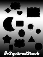 Random Shape Brushes by B-SquaredStock
