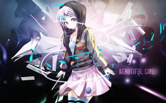 Beautiful Girl Wallpaper by 17flip