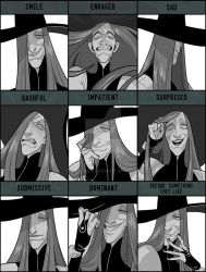 ART MEME: Expressions - Lempo by Garama