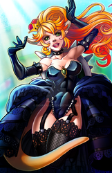 Bowsette by DigiAvalon