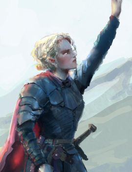 young brienne of tarth by sithsensui