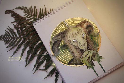 Pan's Labyrinth by Kinko-White