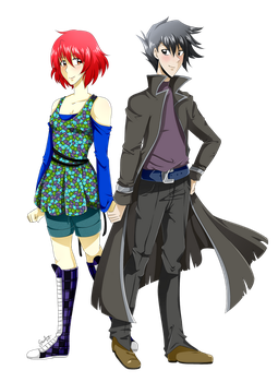 PC: Pip and Chazz by SRealms