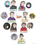 My Anthros as Humans by TigrisTheLynx