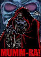 Cartoon Villains - 038 - Mumm-Ra! by CreedStonegate