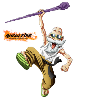 Maestro Roshi - Toyotaro by GhoulFire