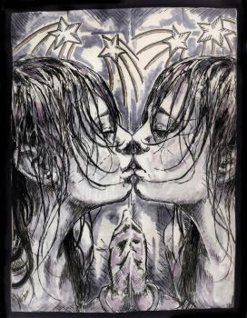 Mirror Image Kiss by RocktheExcel